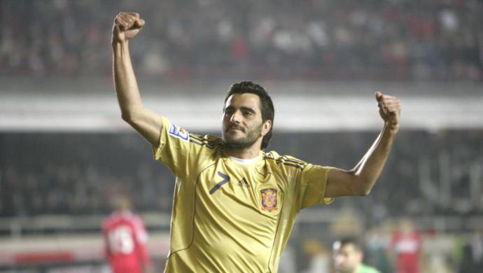 Dani Güiza, el último pichichi nacional de La Liga
