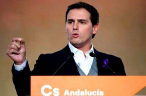 Albert Rivera, ¿de la foto de Colón a defensor del régimen foral?