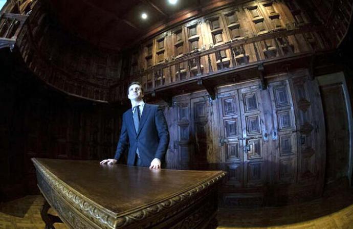 El presidente del Partido Popular, Pablo Casado, este jueves. FLICKR PP