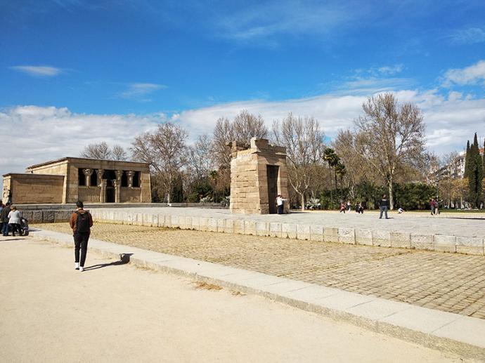El Ayuntamiento estudia la protección del Templo de Debod que Egipto regaló a la ciudad