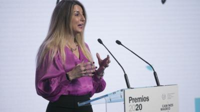 La decana del Colegio de Ingenieros de Caminos, Canales y Puertos de Madrid y directora general en el Ayuntamiento, Lola Ortiz./ Colegio de Ingenieros