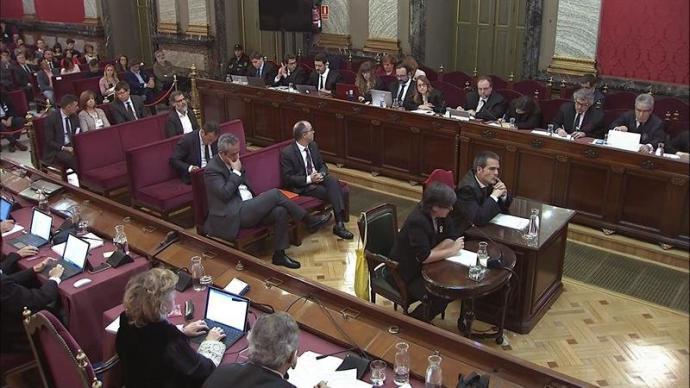 El TS permite que los presos electos asistan a la constitución de las Cortes