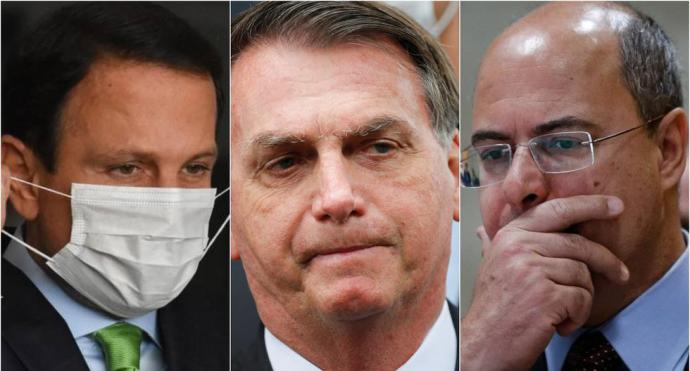 Los gobernadores de Sao Paulo y Río que están en guerra contra Bolsonaro por el coronavirus