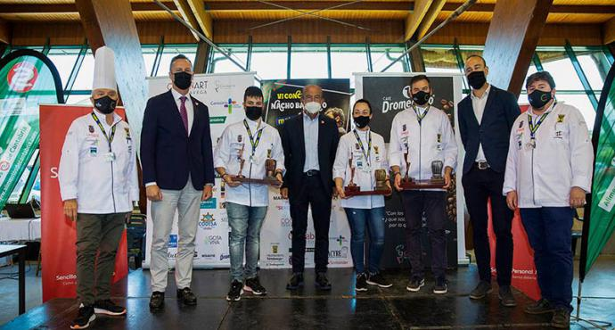 Beatriz Capiruchipi ganadora del Concurso Regional de Cocineros de Cantabria