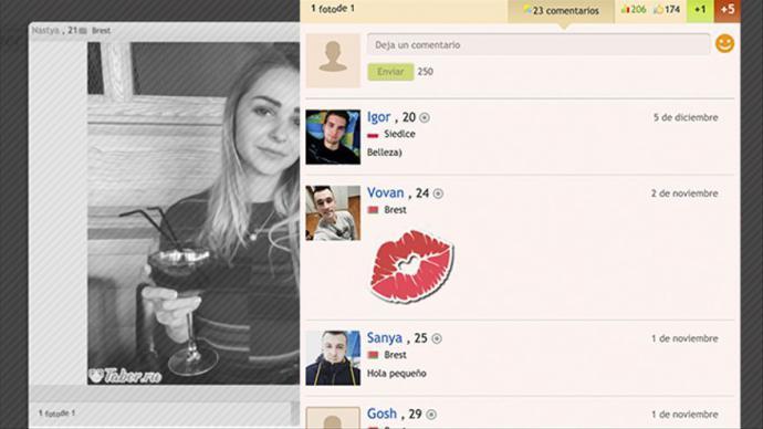 Los bots que atacaron el Ministerio de Sanidad utilizaban fotos de perfil tomadas de otras páginas, como webs de citas rusas.