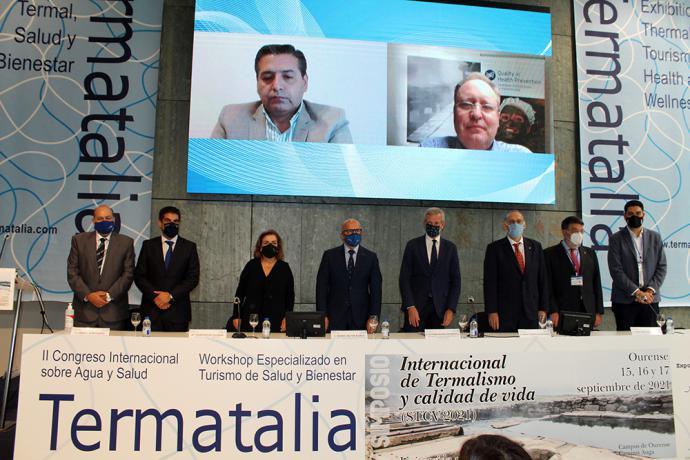 El Congreso Internacional sobre el Agua y Salud reivindica el balneario como centro sanitario