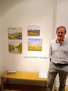 Alessandro Taiana, comunión con el paisaje y su luz