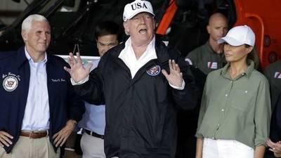 Trump dice que acuerdo migratorio está cerca y el muro sigue construyéndose