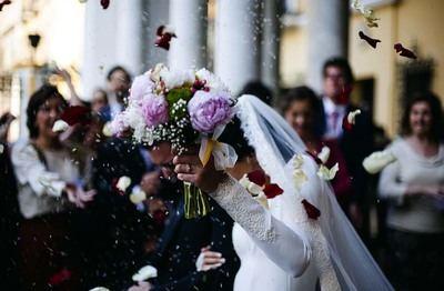 Preparativos para una boda romántica