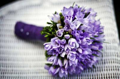 Un recorrido de vida: recibir flores