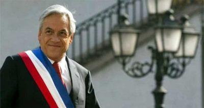 Sebastián Piñera. presidente electo de Chile
