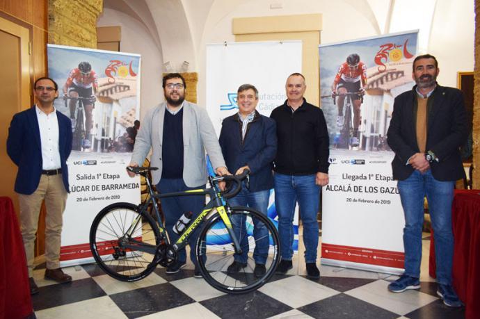 Víctor Mora, Jaime Armario, Joaquín Cuevas, José Manuel Moreno Periñán y Javier Pizarro.