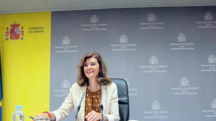 Ana Botella Gómez, en su época de delegada del Gobierno en Valencia