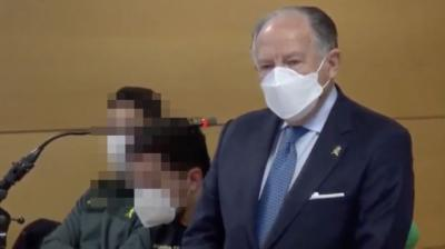 El ex director del CNI Félix Sanz Roldán durante el juicio contra Villarejo