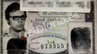 El DNI de Villarejo con identidad falsa expedido en 1984