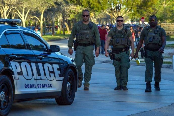 La policía de Coral Springs detuvo al sospechoso