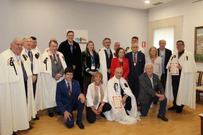 Jornada de convivencia de la Orden del Camino de Santiago en Ourense