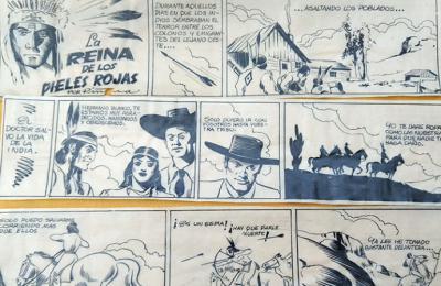 Fernando Piñana de la Fuente, autor de tiras cómic en la prensa de los años 40 y 40 del siglo XX