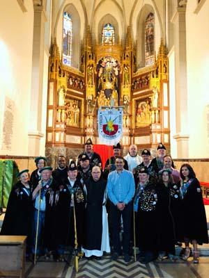 La Cofradía del Queso de Cantabria distingue a la abadía cisterciense de Cóbreces