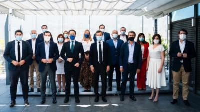 Foto de familia del Comité Ejecutivo Nacional del PP reunido este miércoles en Madrid.PP