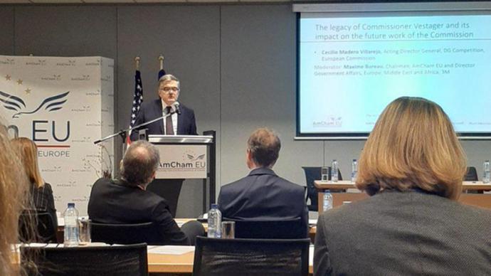 El director general adjunto de Competencia de la Comisión Europea, Cecilio Madero.@EU_COMPETITION