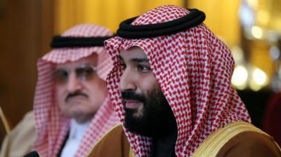 El príncipe heredero saudí, Mohamed bin Salmán