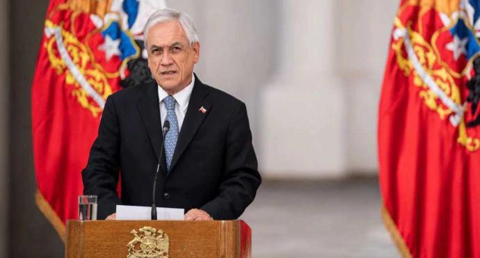 El presidente Sebastián Piñera ordenó el cierre de las fronteras de Chile para frenar la propagación del coronavirus