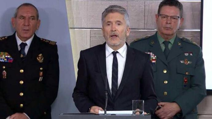 El ministro del Interior Fernando Grande-Marlaska.