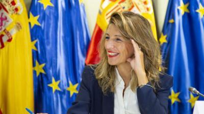 La ministra de Trabajo y Economía Social, Yolanda DíazMINISTERIO DE TRABAJO