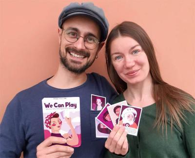 We Can Play. Un Juego de cartas para visibilizar a la mujer en la historia