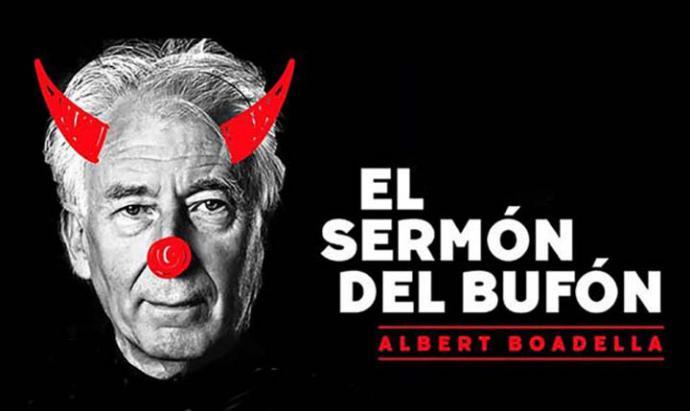 Albert Boadella presenta El sermón del bufón en el Teatro Campos, de Bilbao