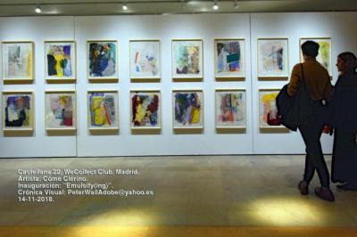 Côme Clérino, primera exposición individual en España en el espacio de Castellana 22