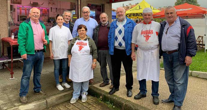 Rosa Venero ganó el Concurso de Ollas Ferroviarias de Cabezón de la Sal
