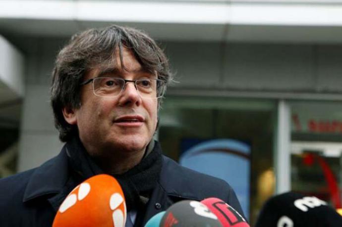 El expresident y candidato de JxCat al Parlamento Europeo, Carles Puigdemont.