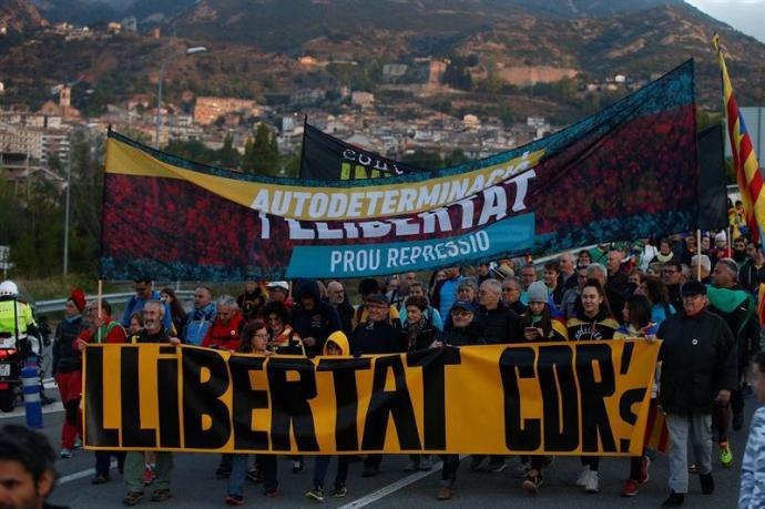 Los CDR alientan la movilización y piden al Govern que rompa con el Estado