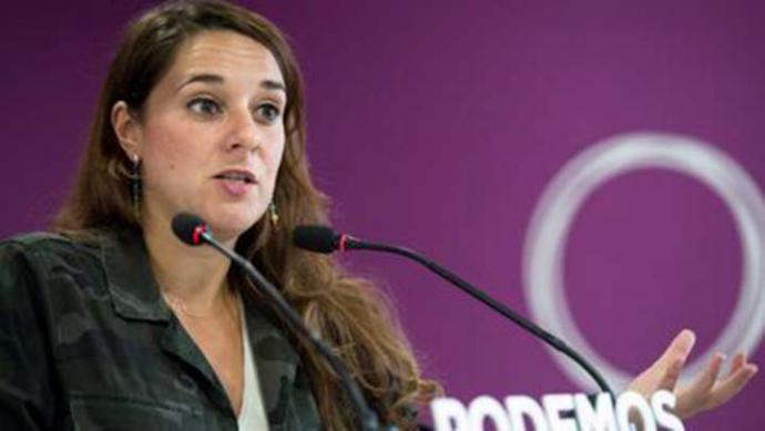 Noelia Vera, portavoz de PODEMOS