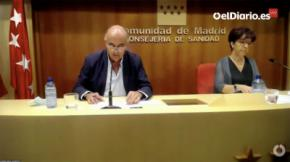El viceconsejero de Salud Pública y Plan Covid-19 de la Comunidad de Madrid, Antonio Zapatero (CAPTURA DE PANTALLA)