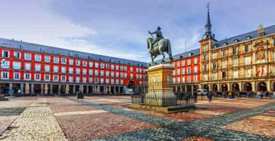 Plaza Mayor de Madrid (imagen de referencia)
