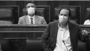 VP segundo del Gobierno, Pablo Iglesias en el congreso