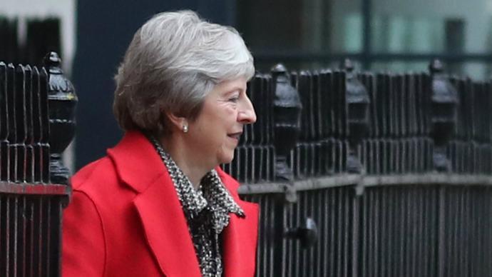 Theresa May busca apoyo público al proyecto del Brexit