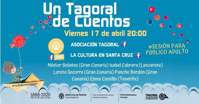 El Ayuntamiento de Santa Cruz de Tenerife ofrece cuentos e historias tradicionales