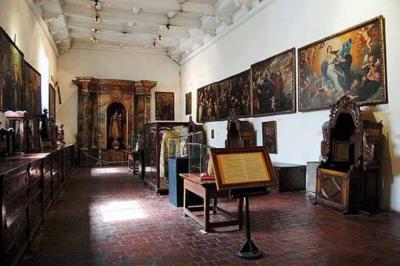 Turismo accesible en el Museo de Arte Colonial San Francisco en Santiago de Chile