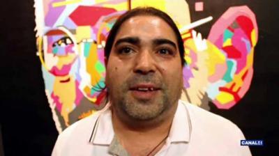 El pintor José Luis Mesas, ha donado un cuadro al Museo Mayte Spínola en Marmolejo (Jaén)