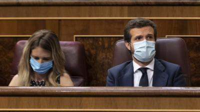 Casado cede a las presiones: destituye a Álvarez de Toledo como número uno en el Congreso y hace portavoz nacional a Almeida