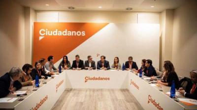 Militantes de Ciudadanos de Madrid critican a la gestora en una reunión interna: 'Nos han tomado por tontos'