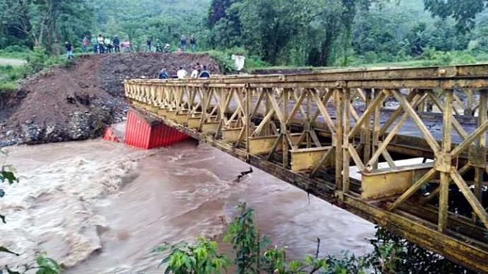 Lluvias dejan cinco muertos y casi 600.000 afectados en Guatemala