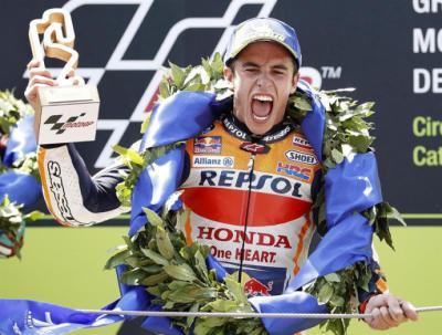 Lorenzo despeja el camino a Márquez en Montmeló