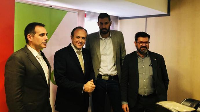Antelo, junto a Liarte, Gestoso y Joaquín Robles