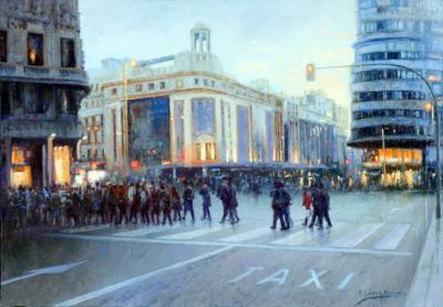 Eugenio Lopez Berrón expone su pintura reciente en el Ateneo del Madrid
