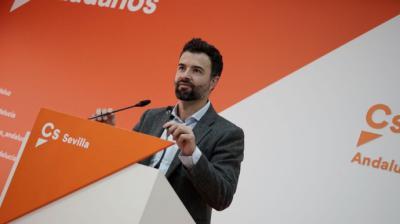 El diputado de Ciudadanos, Pablo Cambronero, en imagen de archivo